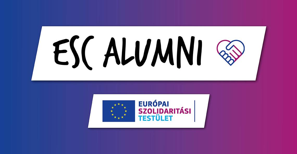 Csatlakozz az ESC Alumni-hoz!